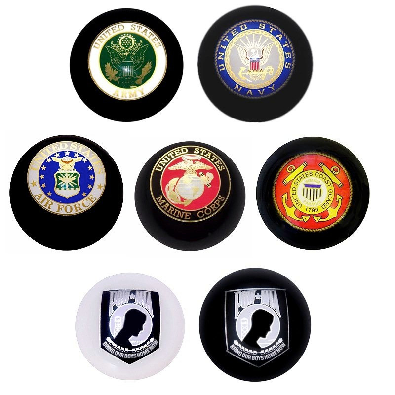 Armed Forces Shift Knob Colors