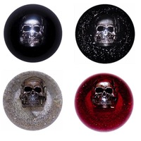 Chrome Skull Embedded Shift Knob Colors