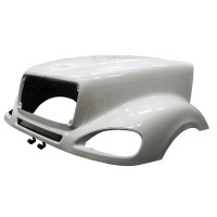 Freightliner Columbia Hood Jone's Performance Side
