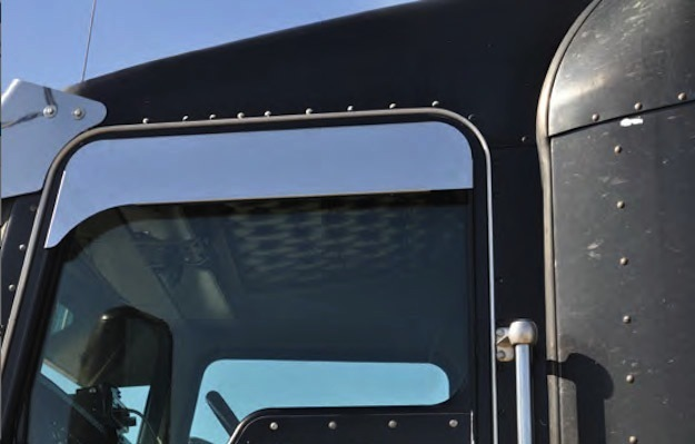 "Trailer Ac Unit >> Peterbilt 379 386 389 5"" Eagle Flange Chop Top Window Trim ..."