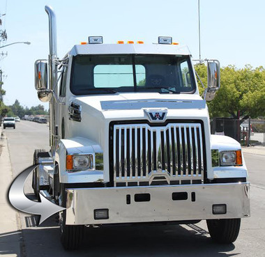 Western Star 4700 Bumper By Valley Chrome Raney S Truck