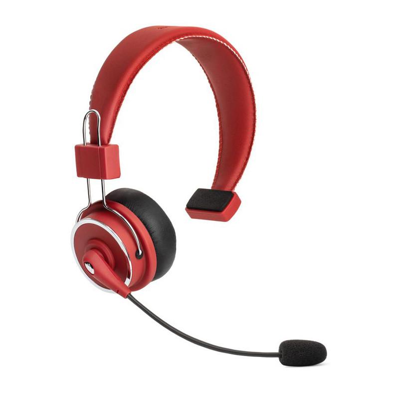 Blue Tiger Elite Wireless Bluetooth Headset Red