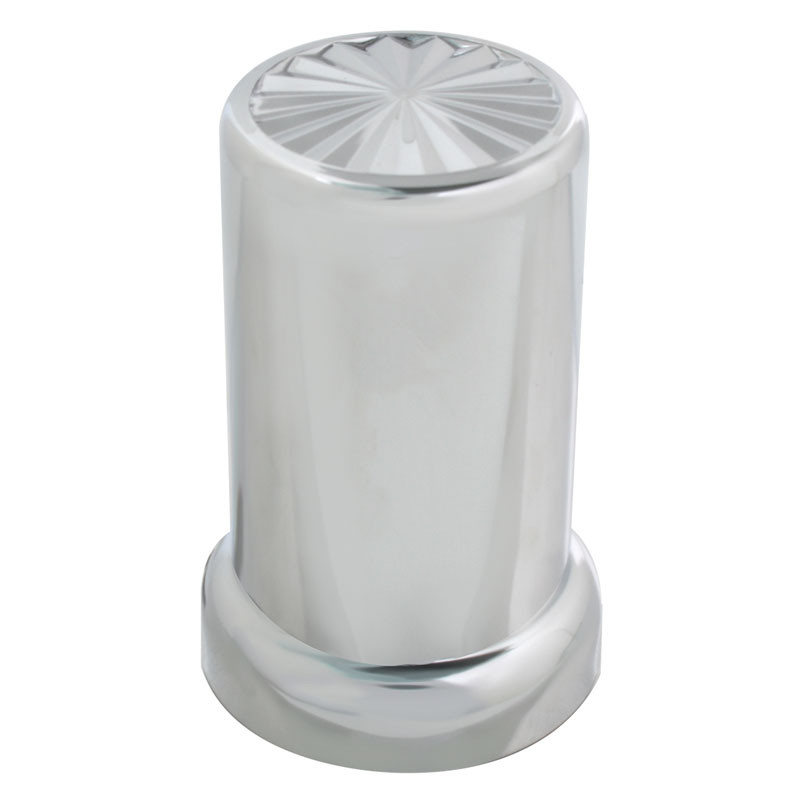 10 Pack of Chrome Pin Wheel Nut Covers