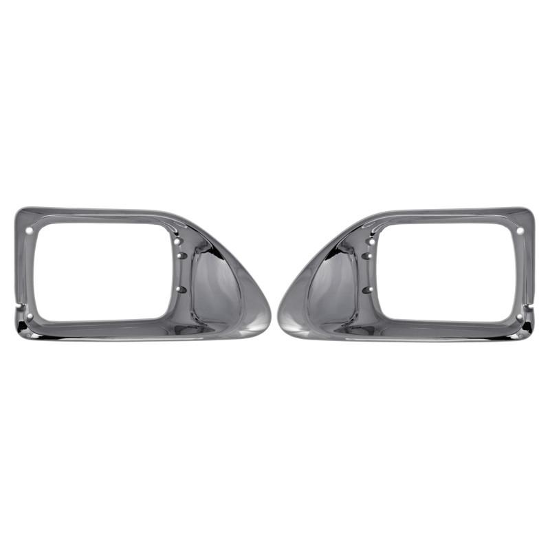 International 9200 9400 Chrome Headlight Bezels