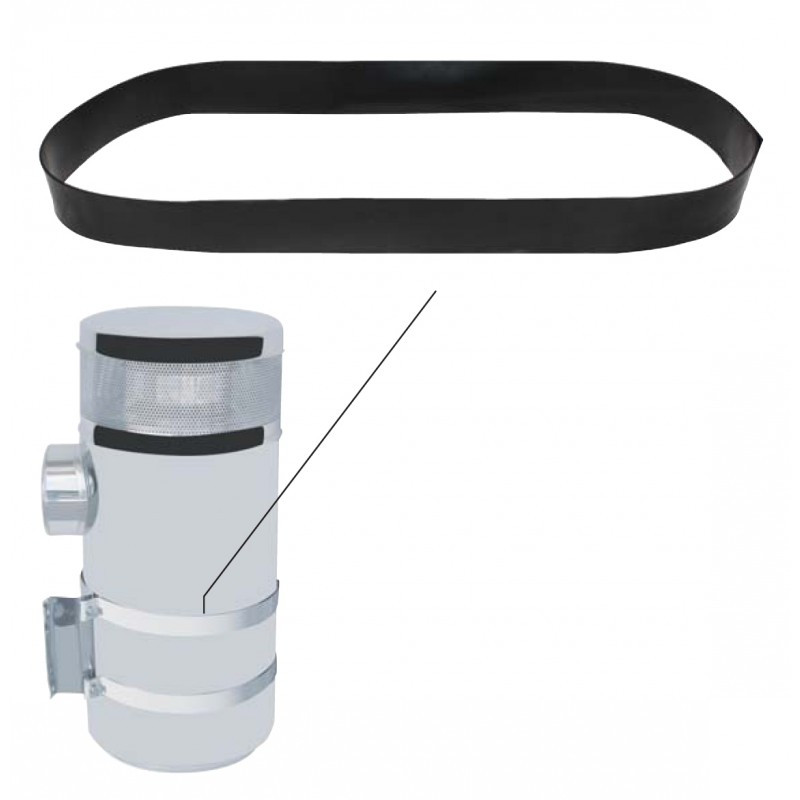 Rubber Air Cleaner Bracket Strap Position