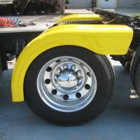 Semi Truck Fiberglass Half Fender Set With Brackets