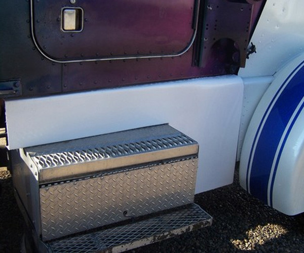 Peterbilt 359 Fiberglass Cab Cowl Panels