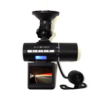 Blue Tiger Dual Dash Cam Black Box Back
