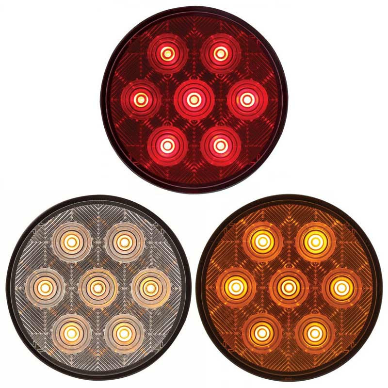 """4"""" Round """"Competition Series STT LED Light Styles"""
