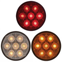 "4"" Round ""Competition Series STT LED Light Styles"