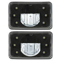"6"" x 4"" Rectangular High Power LED Crystal Headlight"