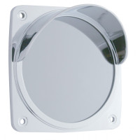 Square Mirror Light Bezel With Visor