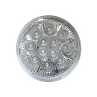 "12 LED 4"" Round White Light"