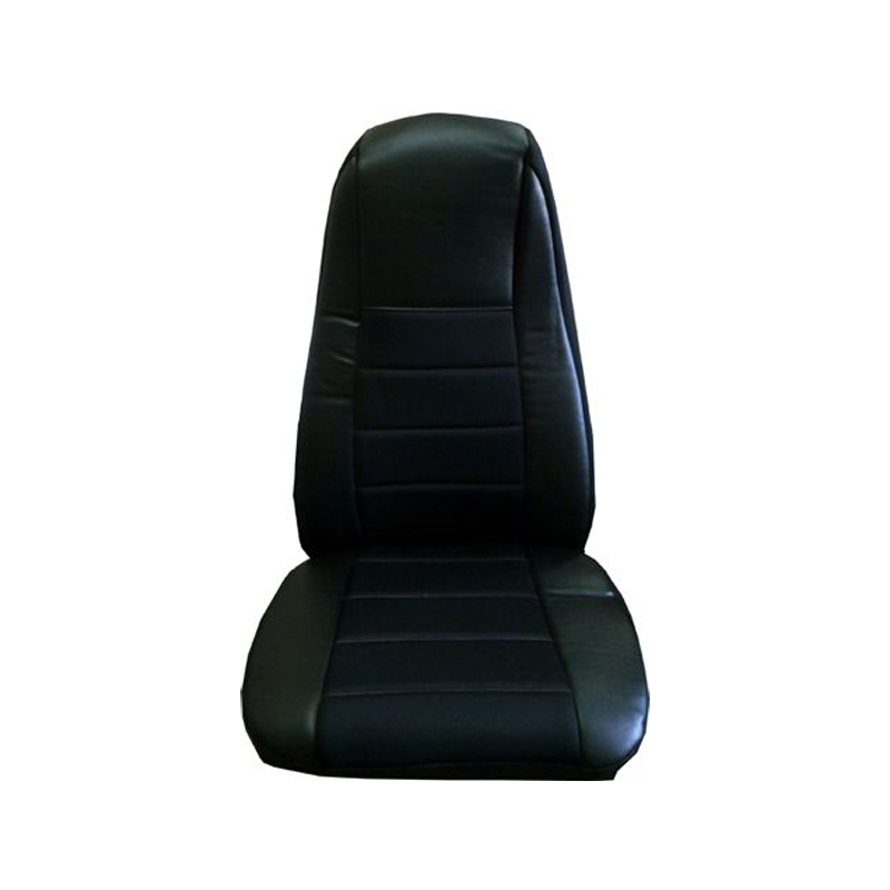 Black Vinyl Seat Cover