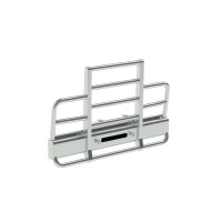 Peterbilt 378 379 SFA Herd Defender 2 Post Bumper Grill Guard With Horizontal Bars