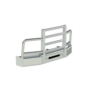 Peterbilt 579 Herd 4 Post Defender Bumper Grill Guard With Horizontal Bars