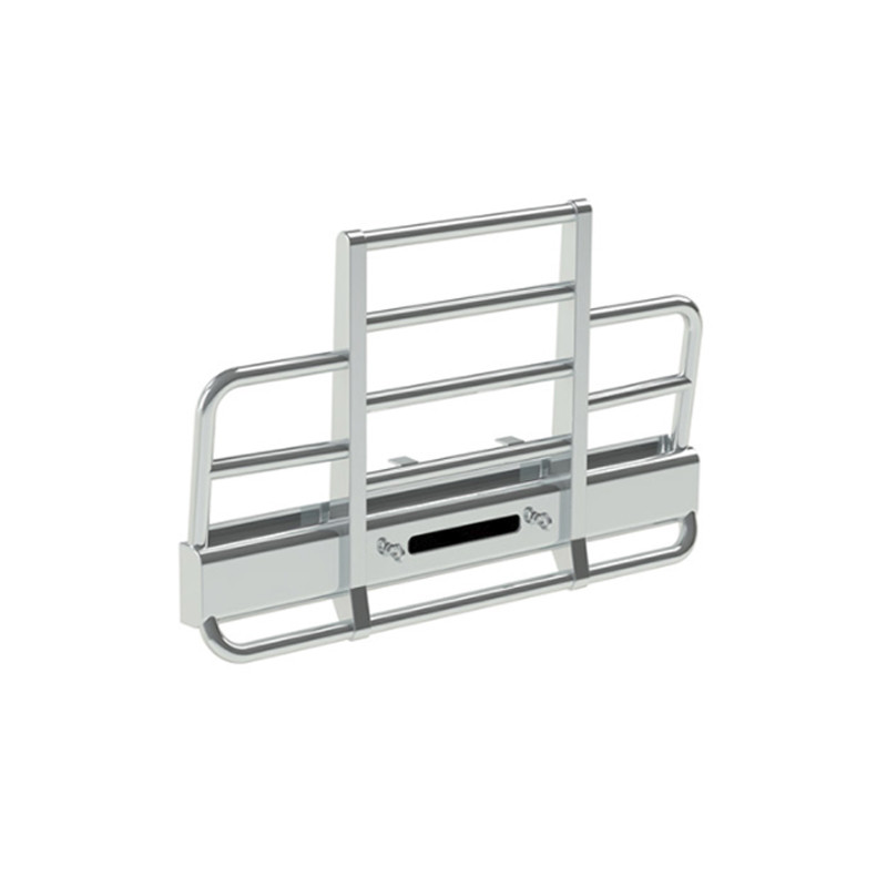Kenworth W900 Herd 2 Post Defender Bumper Grill Guard With Horizontal Bars