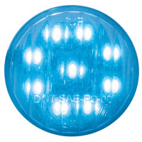 "2"" Round Blue LED Utility Light"