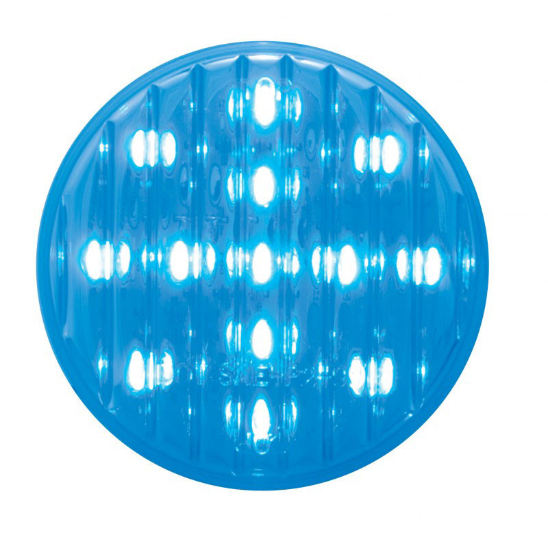13 Led 2 5 Quot Round Blue Auxiliary Utility Light Raney S