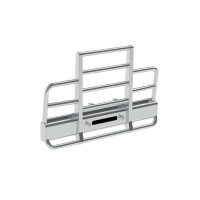 International 9300 SFA Herd Defender 2 Post Bumper Grill Guard With Horizontal Bars
