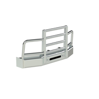 Kenworth T680 Herd 2 Post Defender Bumper Grill Guard With Horizontal Bars