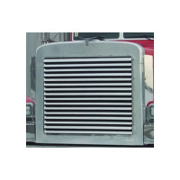 Peterbilt 379 Short Hood Grill With 15 Horizontal Louvered Bars