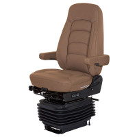 Bostrom Wide Ride II Tan Ultra Leather Serta Memory Foam Seat