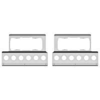 Kenworth W900 Fender Guard Headlight Mount With Light Holes