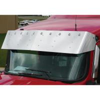"Kenworth W900 T800 13"" Bulls Eye Drop Visor Standard Mount"