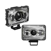 "6"" x 4"" LED High Beam & Low Beam Pedestal Mount Headlights"