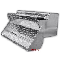 Kenworth W900 Aluminum Diamond Plate Tool Box