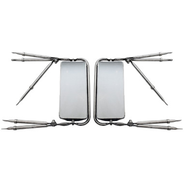 West Coast 7 Quot X 16 Quot Stainless Steel Mirror Assembly