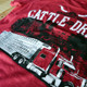 Cattle Drive Hammer Lane T-Shirt Truck Close Up