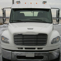 Freightliner Business Class M2 112 Raised Roof Drop Visor