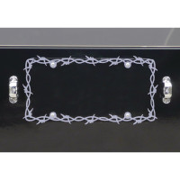 Universal Barbwire License Plate Frame By RoadWorks