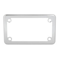 Universal Chrome Motorcycle License Plate Frame
