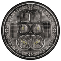 "JW Speaker 5.75"" Round LED High & Low Beam Headlight"