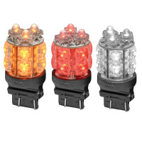 LED 360 Degree 3157 Push In Replacement Bulb Amber, Red, & White