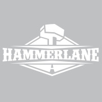 "Hammerlane Logo Decal 8"" Gloss Vinyl"