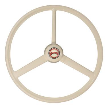 20 Quot Ivory Retro Bone 3 Spoke Steering Wheel Raney S