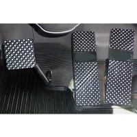 Peterbilt 379 386 388 389 Black Diamond Billet Foot Pedal Set ( 1994 - Current)