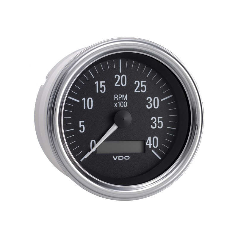 Programmable Hour Meter : Semi truck electrical tachometer gauge with lcd hourmeter