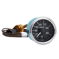 Semi Truck Mechanical Water Temperature Gauge With Capillary Series 1
