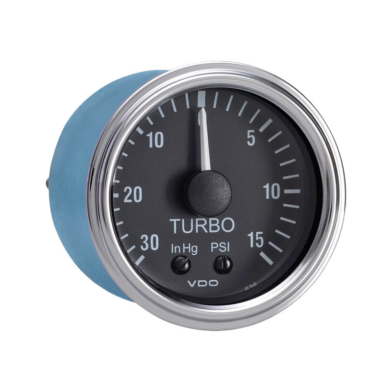 Semi Truck Mechanical Turbo Amp Boost Gauge With Optional
