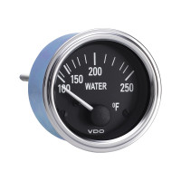 Semi Truck Electrical Water Temperature Gauge Series 1