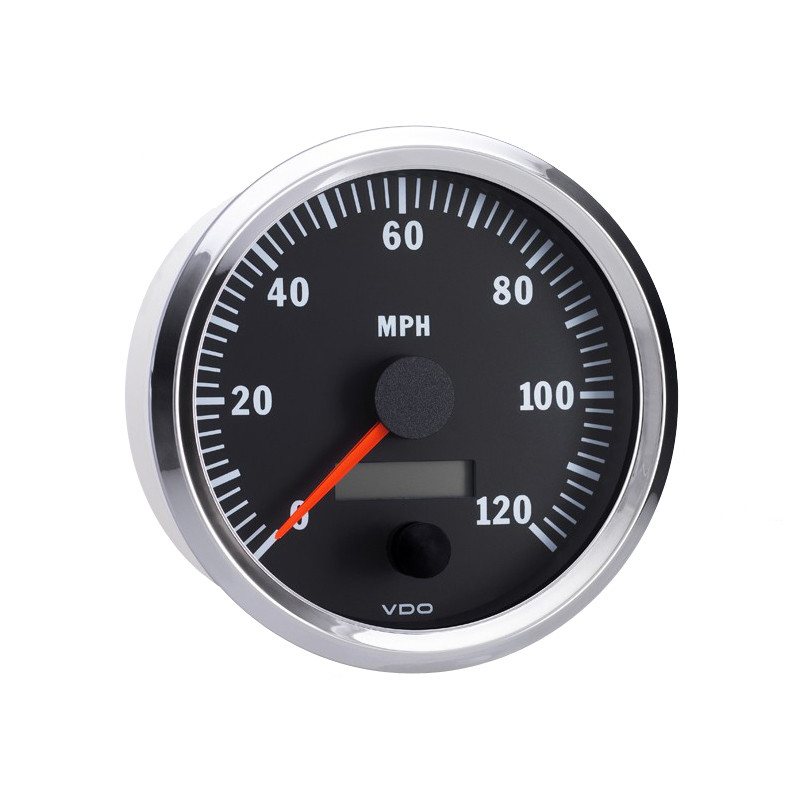 Semi Truck Electrical Programmable Speedometer Gauge Vision Chrome