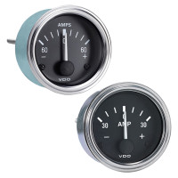 Semi Truck Electrical Ammeter Gauge Series 1