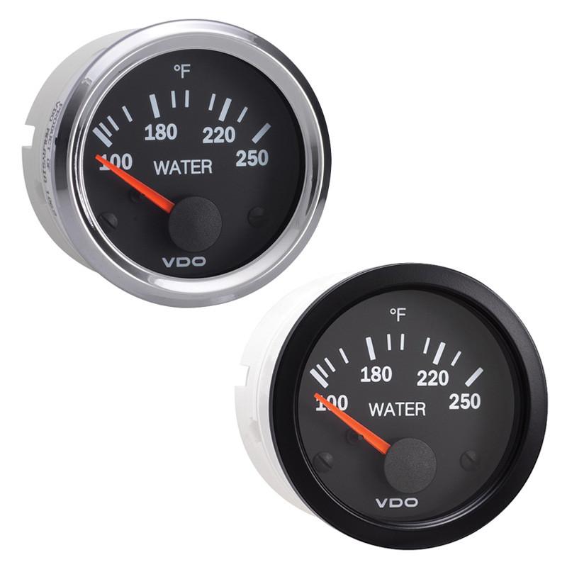 semi truck electrical water temperature gauge vision ... vdo oil temp gauge wiring diagram #6