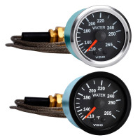 Semi Truck Mechanical Water Temperature Gauge With Capillary Vision