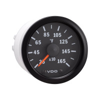 Semi Truck Electrical Pyrometer Gauge Vision Black